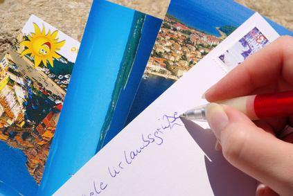 Fake Postkarten